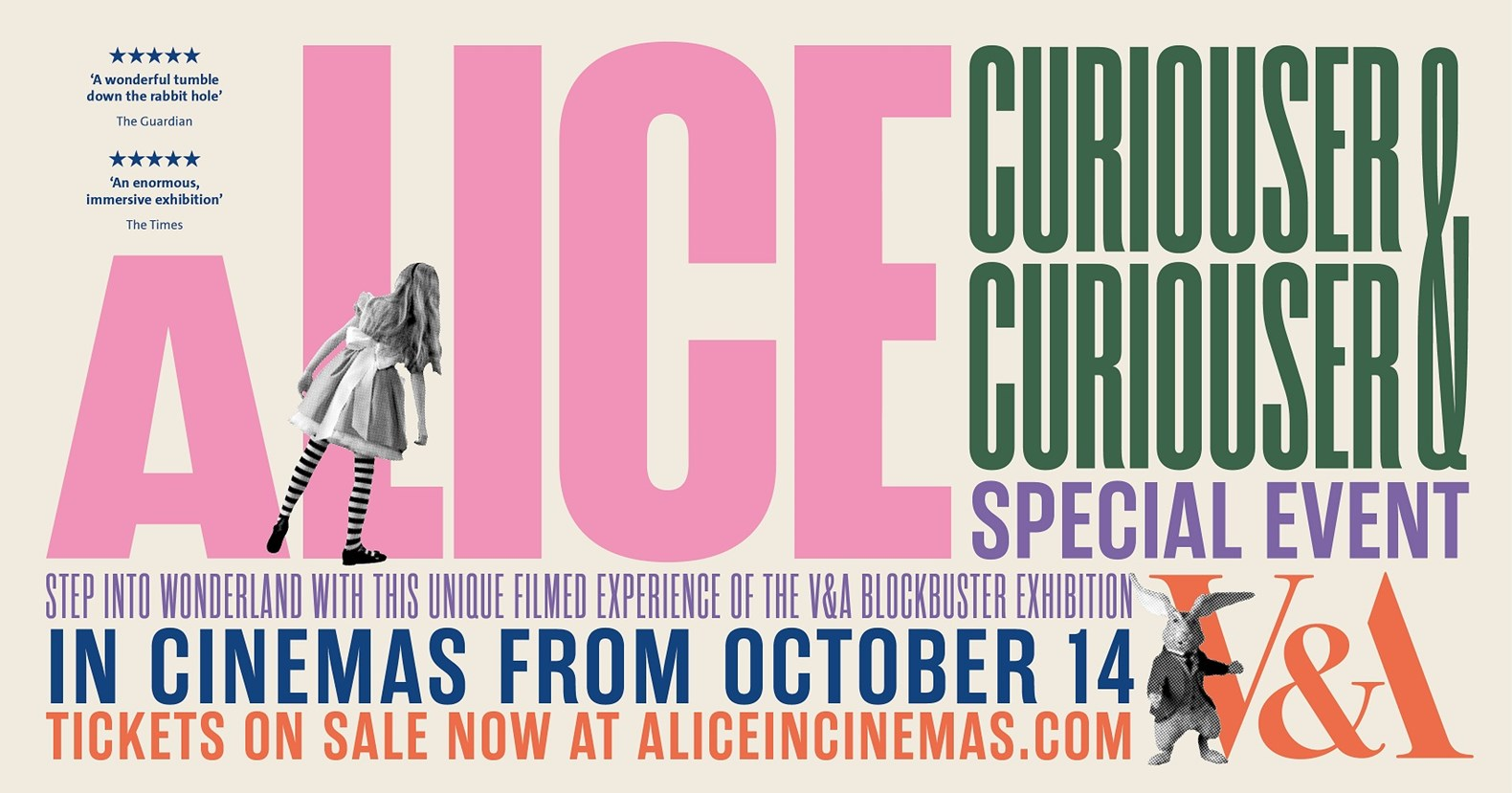 Image for V&A: Alice: Curious and Curiouser